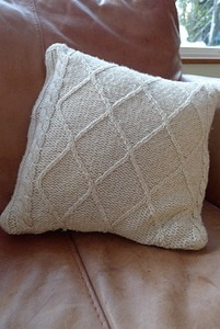 Recycled Jumper Cushion Cover - Tutorial 8