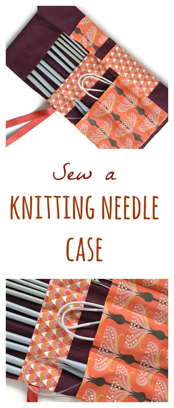 Knitting Needle Case Tutorial 4