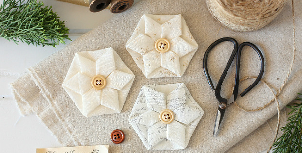 10+ Easy fabric flower tutorials 8