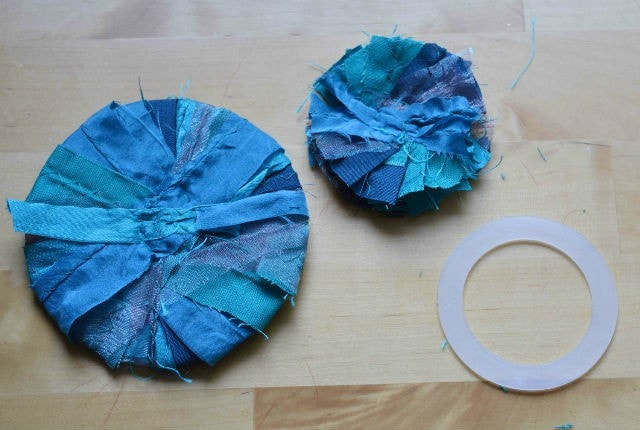 Upcycled flower tutorial