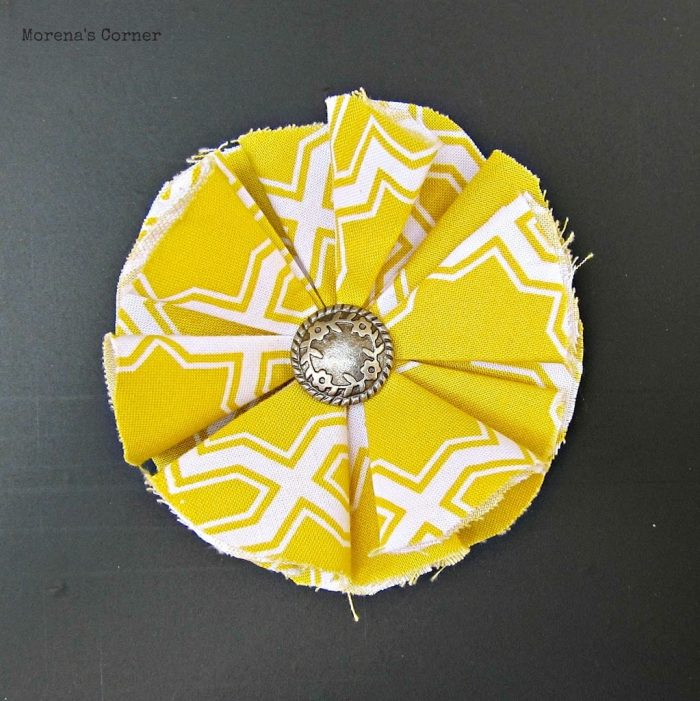 10+ Easy fabric flower tutorials 10
