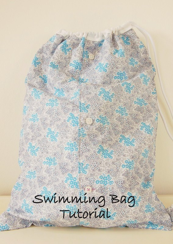 Drawstring Waterproof Swimming Bag Tutorial 2
