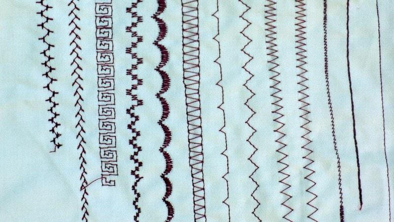 Sewing Machine Stitching Guide