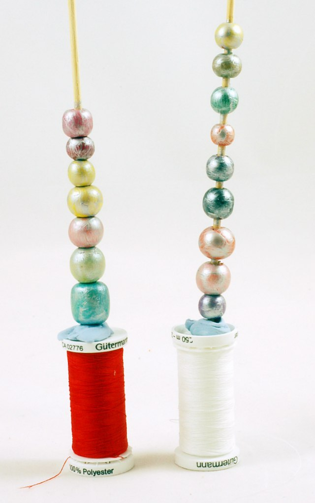 Painted beads