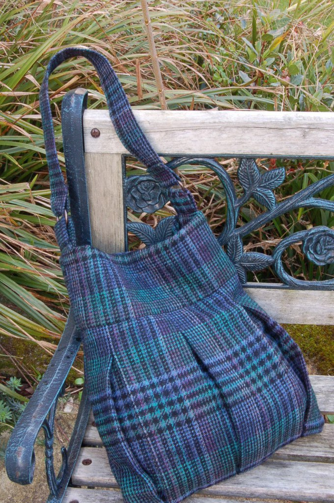 Tweed Skirt Bag