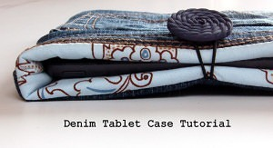 Upcycled Denim Case Tutorial