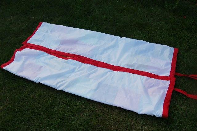 Picnic rug ties