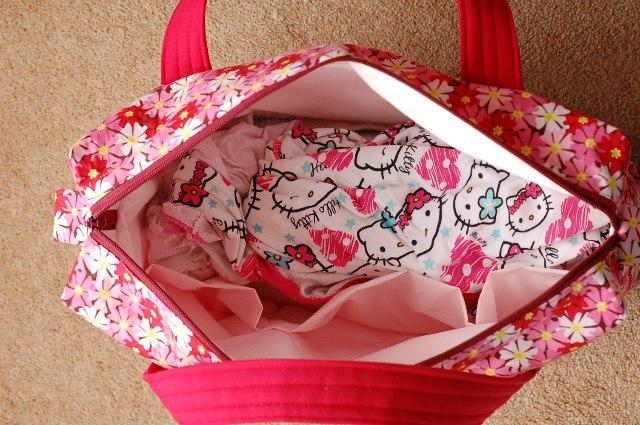 Boxy Overnight Bag pockets