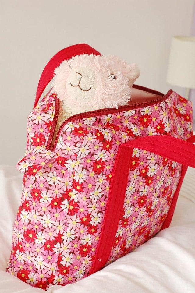 Boxy Overnight Bag