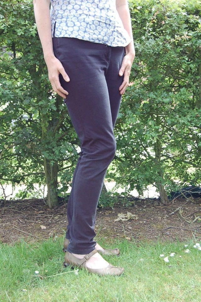 DIY Skinny Trousers