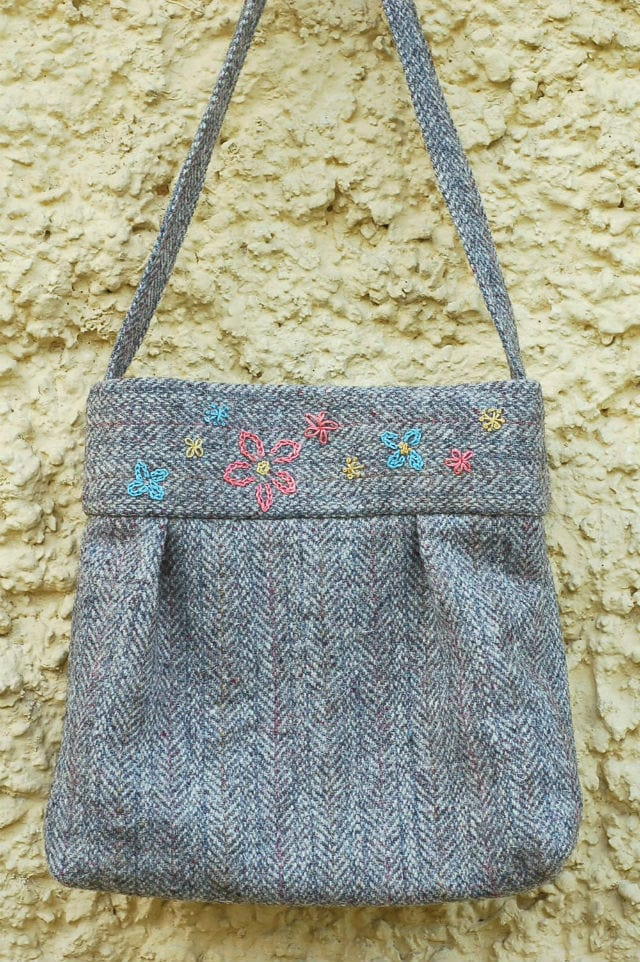 Tutorial Tweed Bag