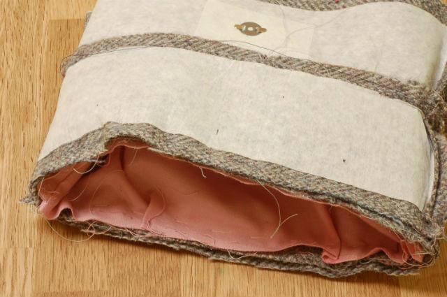 assemble tweed bag