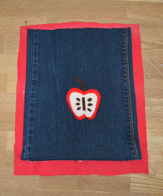 Bag lining template