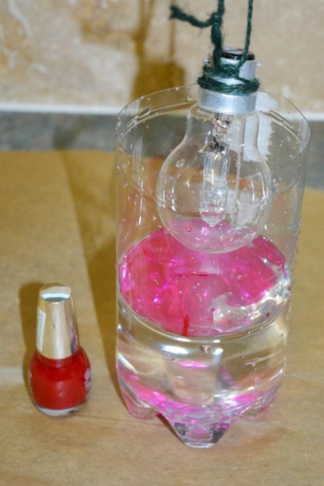 Dip dye Light Bulb