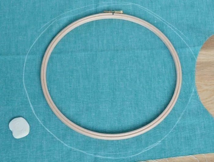 Embroidery Hoop measurement