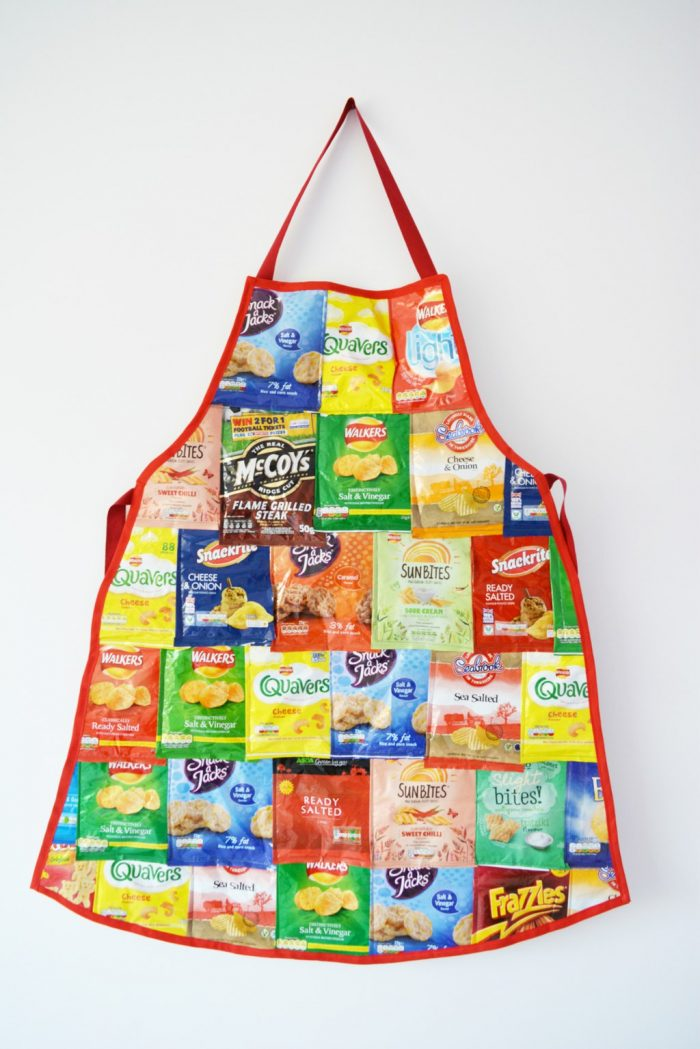 What to do with empty crisp packets.., 9 recycle crisp packet ideas 2