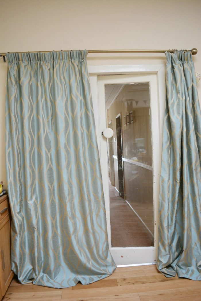 Too long curtains