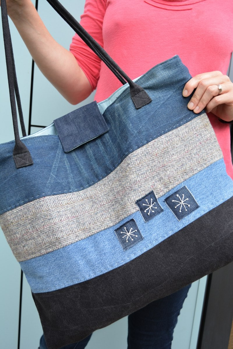 Upcycled Tote Bag Tutorial