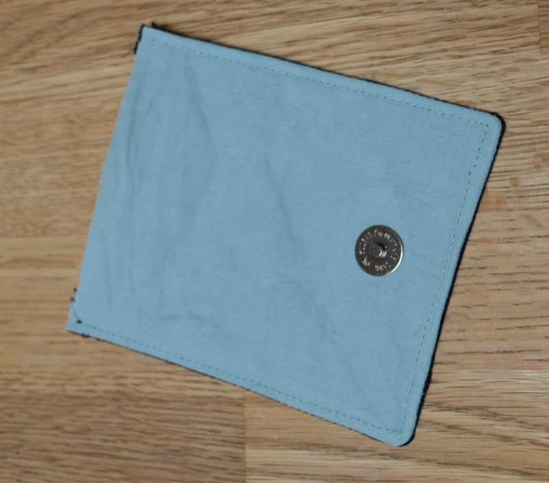 fabric flap closure
