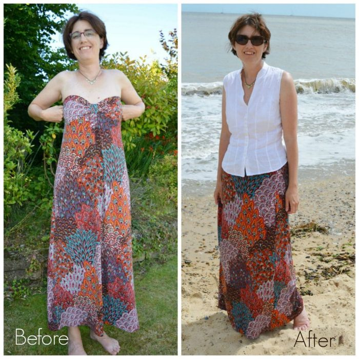 Maxi Skirt Refashion