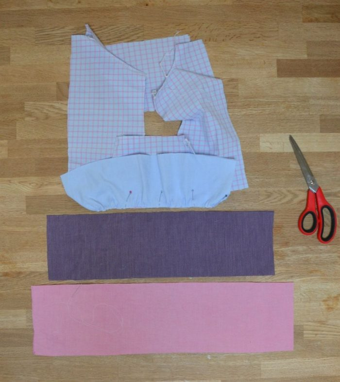 Refashioned shirt layers