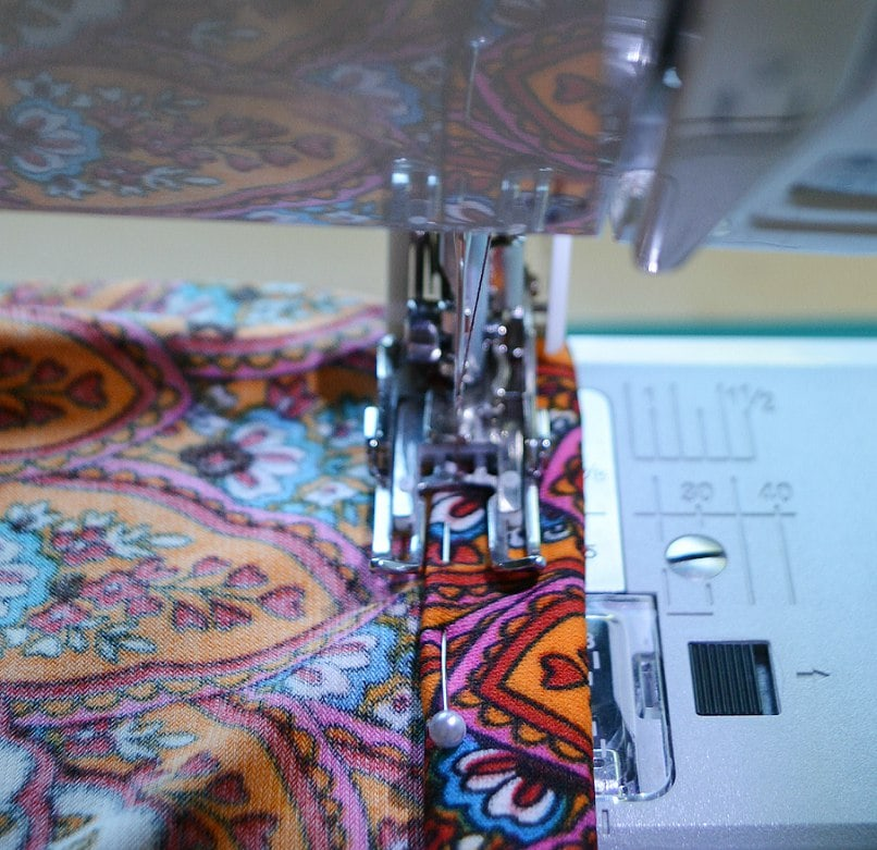 Stitch waistband