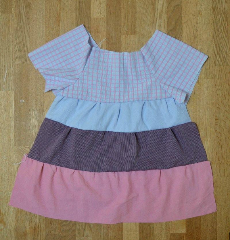 toddler dress pattern using refashioned shirts