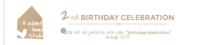 2nd birthday banner white-01