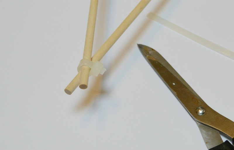 attach cable ties