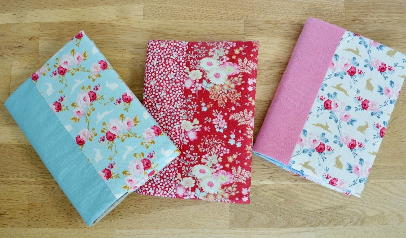 A5 Sketchpads with Tilda fabric covers