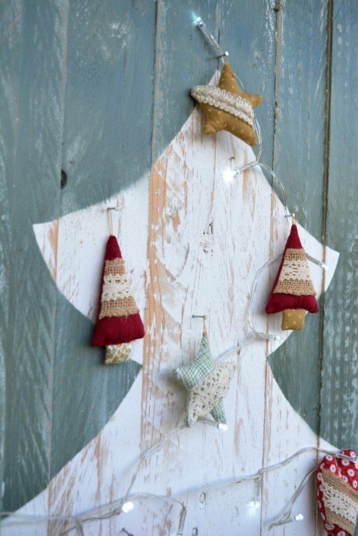 Handsewn Christmas decorations 2