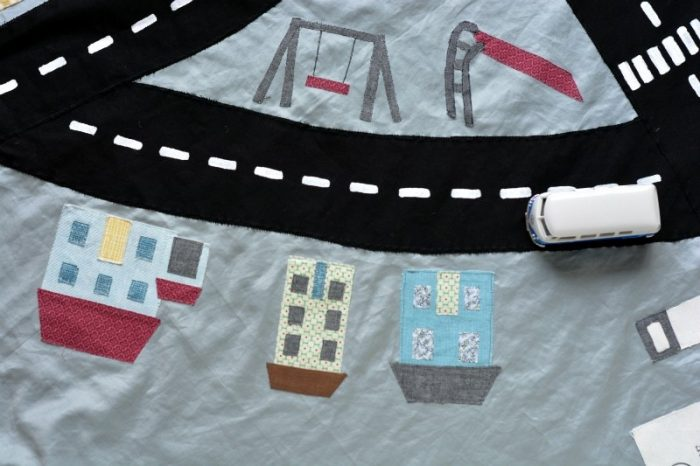 DIY drawstring car play mat (post sponsored by Volkswagen) 24