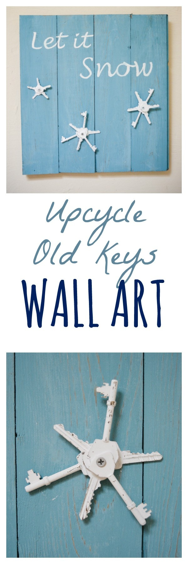 Ideas for upcycling old keys 4