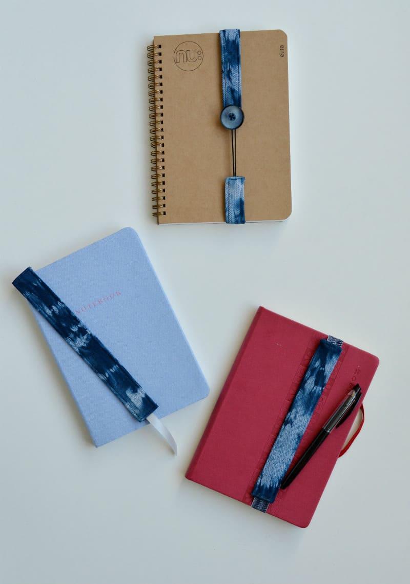 Create your own shibori book marks 2