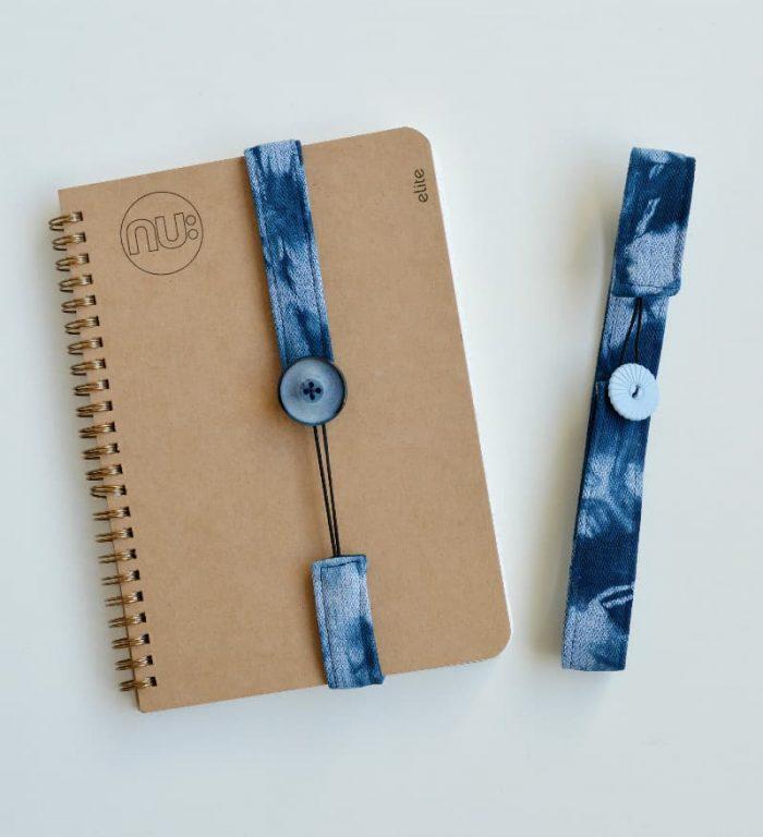 Create your own shibori book marks 22