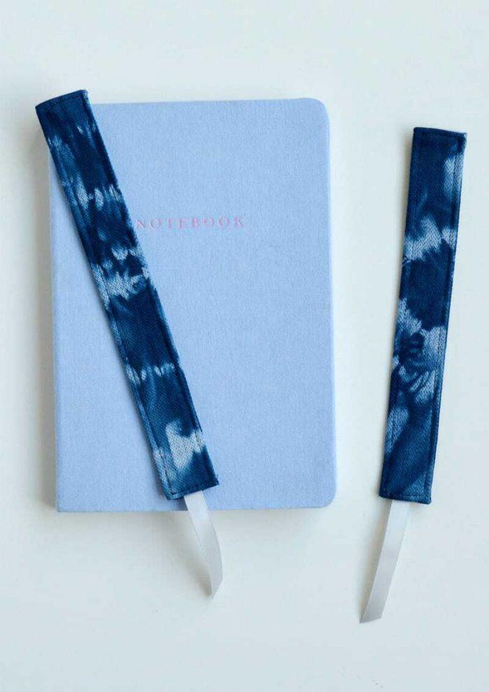 Create your own shibori book marks 20