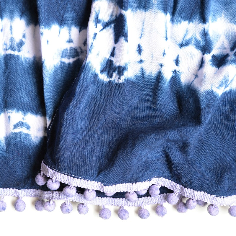 How to make a shibori scarf