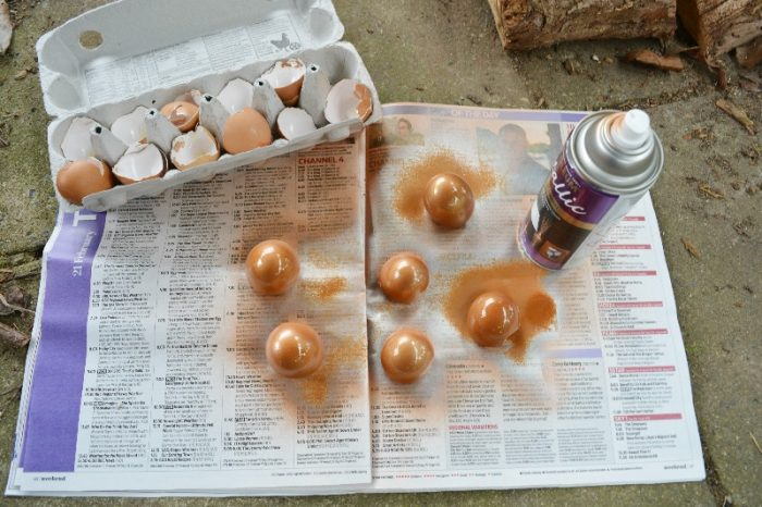 Egg Shell Easter Table Decoration 4