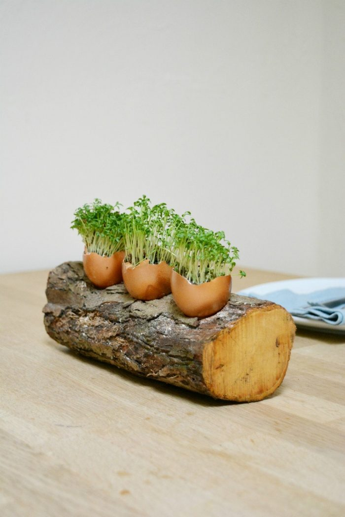 Egg Shell Easter Table Decoration 2