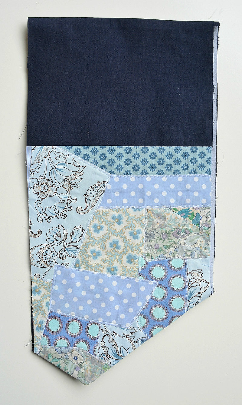 What to make with fabric scraps?? Free fabric scraps clutch tutorial 16