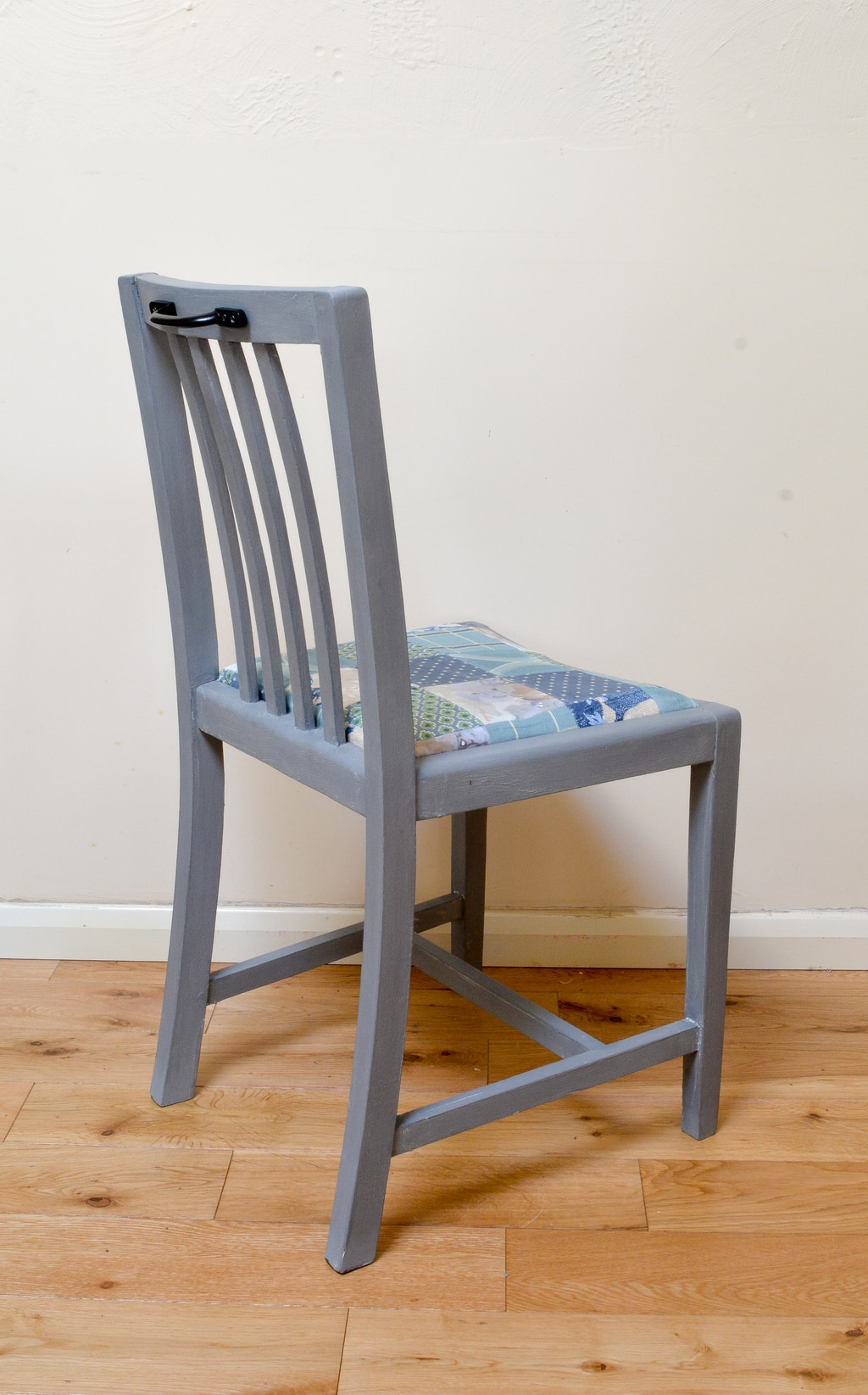 Upcycled Dining Room Chair, waxed stain resistant seats