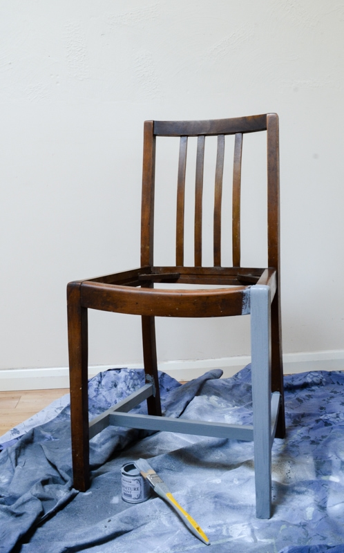 Upcycle Dining Room Chairs - Stain resistant seats 4