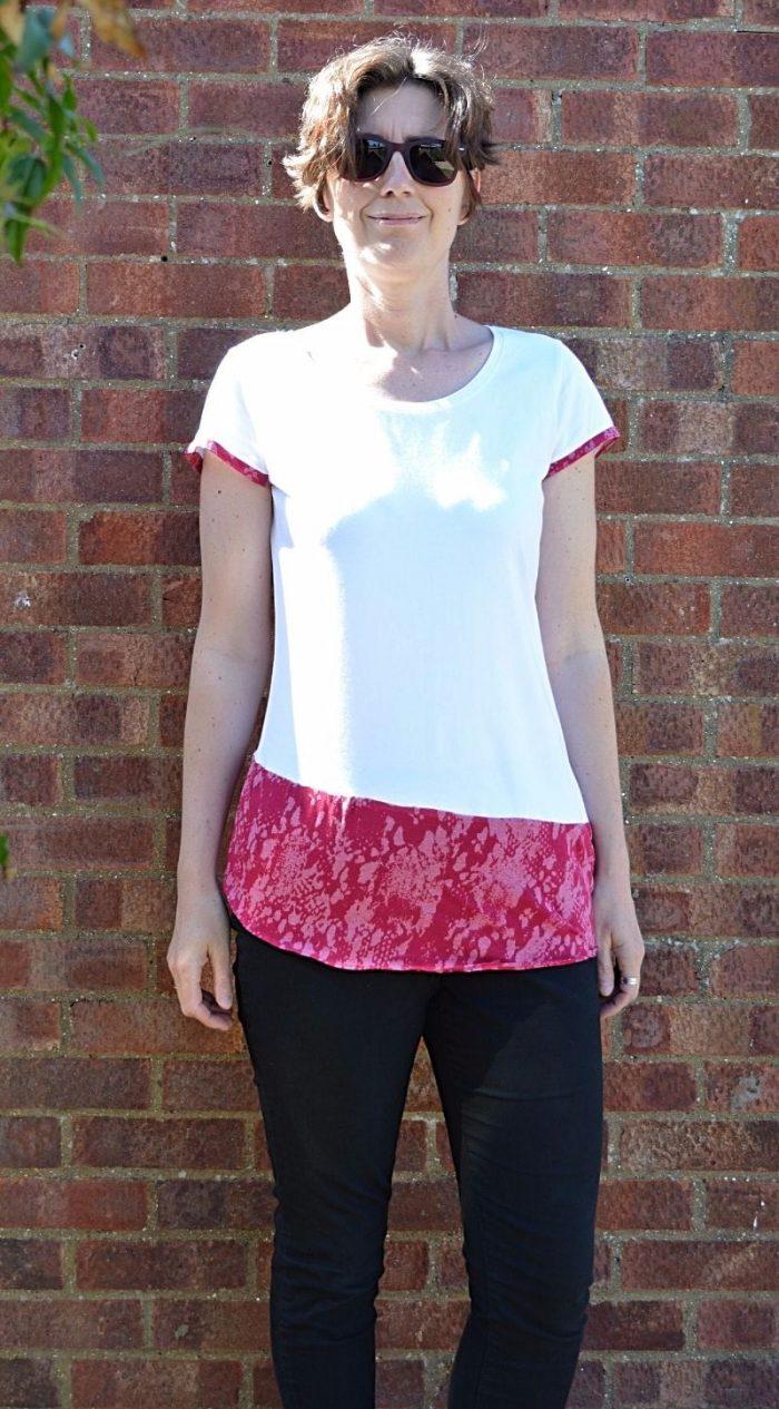 T shirt Refashion 2