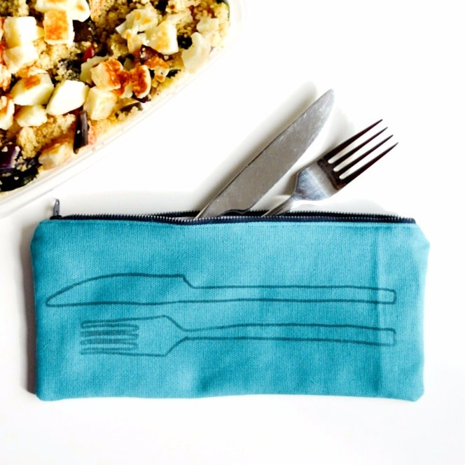 DIY Cutlery Bag