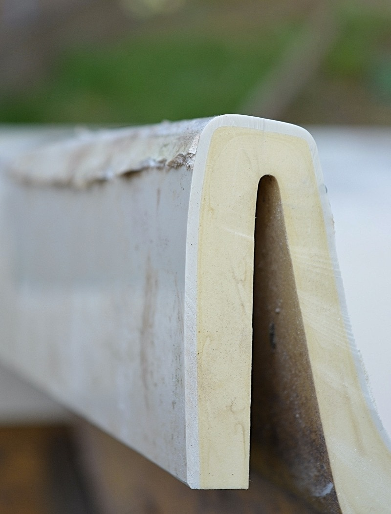 How to convert a bath into an upcycled garden chair 10