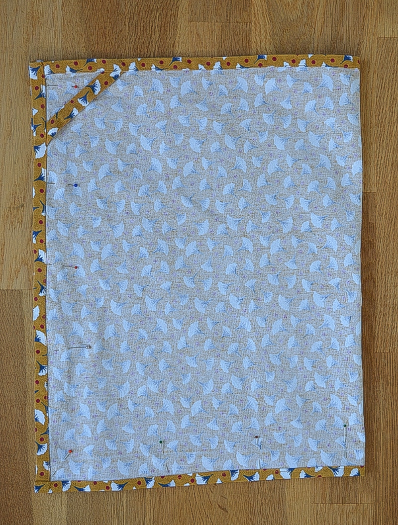 Quick and easy tote bag, transform an old t towel 10