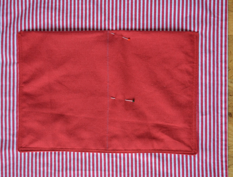 Quick and easy tote bag, transform an old t towel 20