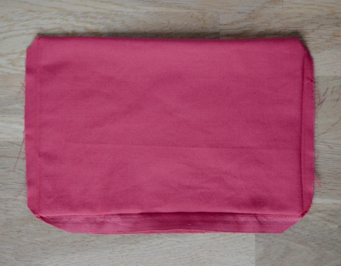 Quick and easy tote bag, transform an old t towel 16