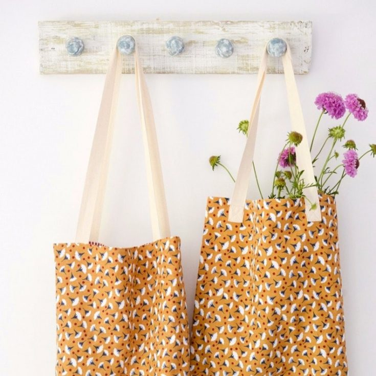 Quick and easy tote bag, transform an old t towel