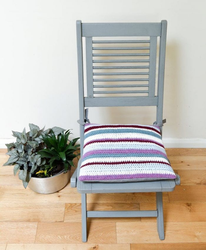 Easy DIY Crochet Cushion, Tutorial, perfect for a beginner